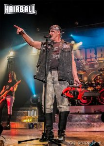 Chainsaw Cain at Hairball's 15th Anniversary show at the Myth Nightclub in Maplewood, MN